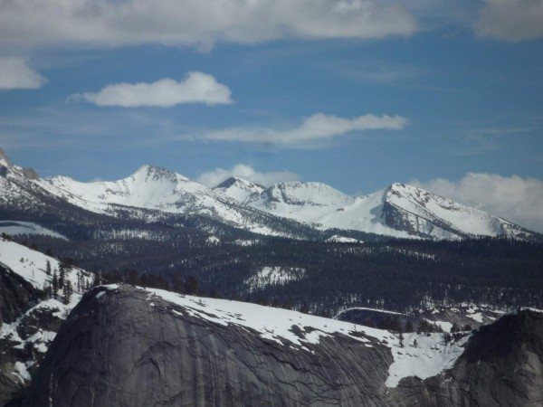 Looking from the top of Mt Watkins across to Mt Starr King. May 4, 201...