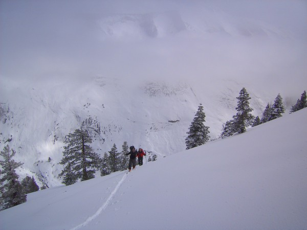 South side of Mount Watkins on March 9, 2010. Allot of snow !
