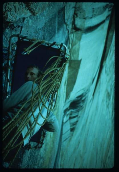Walt Shipley setting up his submarine ledge.