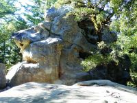 Castle Rock - South Face 5.8 - Bay Area, California USA. Click to Enlarge