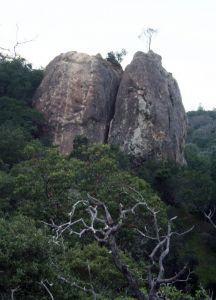 Mt Diablo - Butt Crack 5.4 - Bay Area, California USA. Click to Enlarge