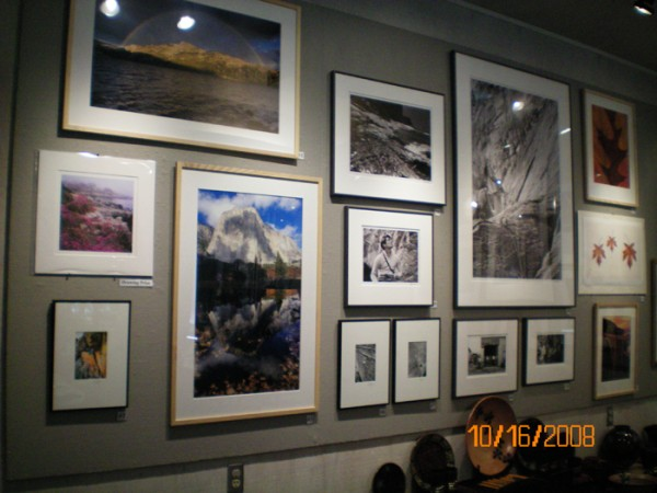 Some of the artwork from the 2008 auction.