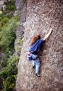 Mt St Helena - Bubble Slab 5.9 - Bay Area, California USA. Click for details.