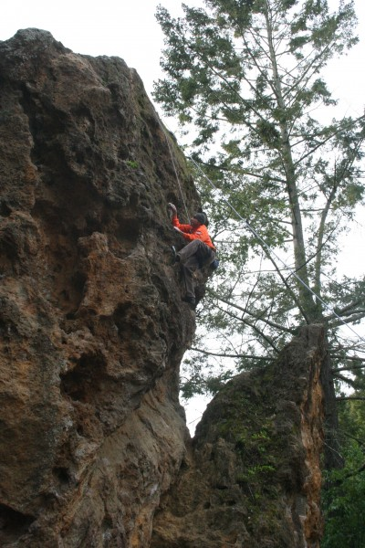 Richard Newton on Remilard Roof 5.10
