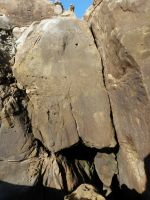 Salt Point, Playground - Log Jam 5.9 - Bay Area, California USA. Click to Enlarge