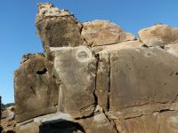 Salt Point, Playground - Epiphany 5.10d - Bay Area, California USA. Click to Enlarge