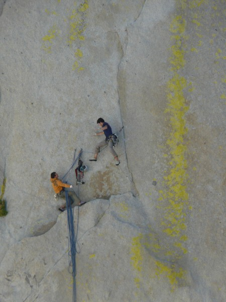 The crux pitch on Atlantis