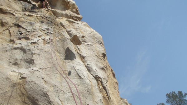 Last weekend at the new Secret crag!!! 500 pounder! off the Brown wall...