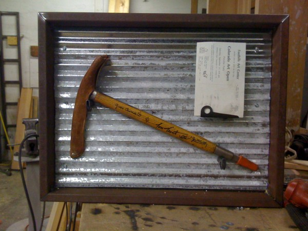 McCarthy's Piolet auctioned off at the AAC's 2009 Annual Dinner. The c...
