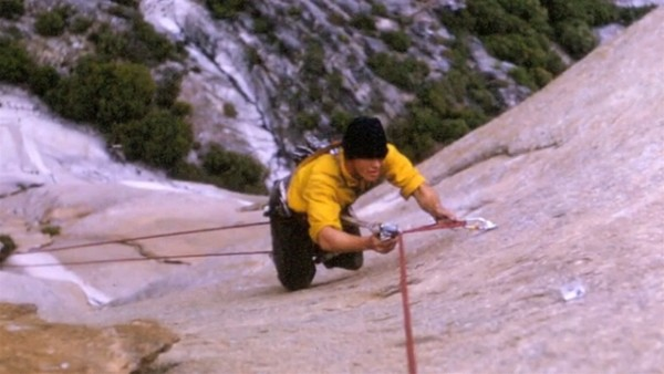 Pratt on the West Buttress of El Capitan, June 1964 (second ascent)