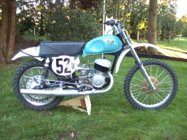 1966 CZ 250 twinpipe