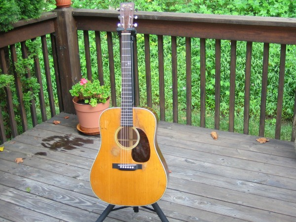My current axe March 16, 1935 Martin D28 <br/>