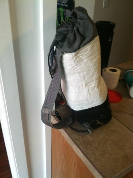 DIY haul sack.