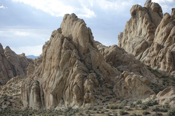 A few of the fascinating granite spires in Elephant Land