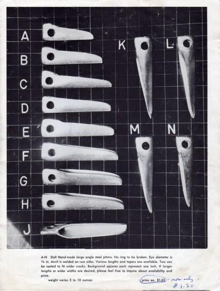 Dolt, 1958 catalog