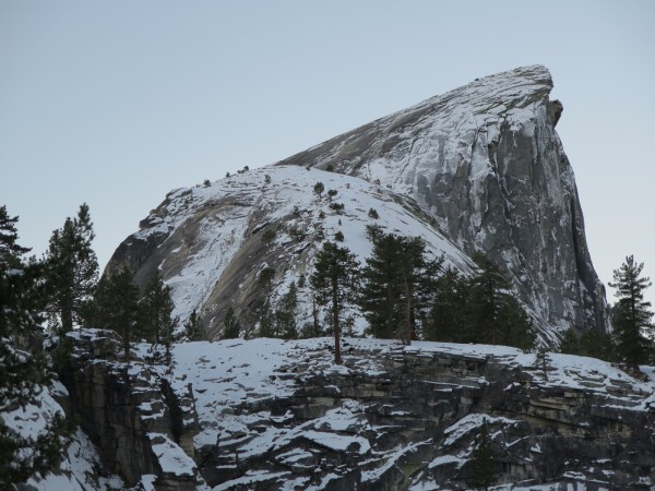 Half Dome was really icy and dangerous over the last few days. I saw p...