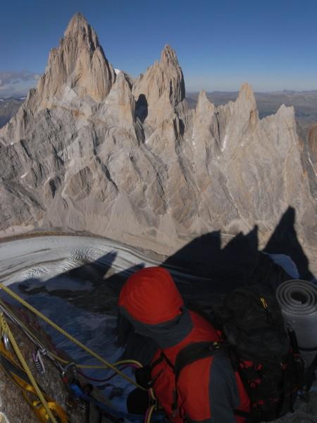 Fitz Roy seen from Cerro Torre.