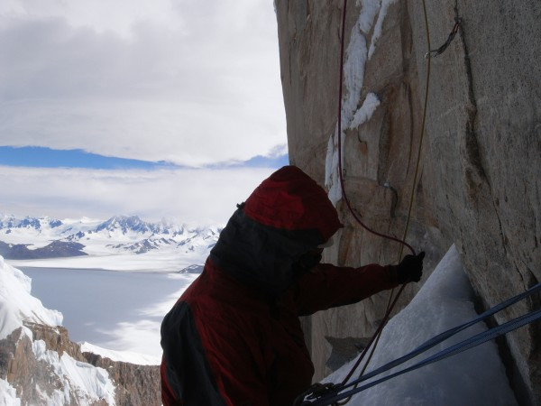 View of the ice cap.