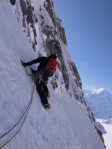 The start of the climb.