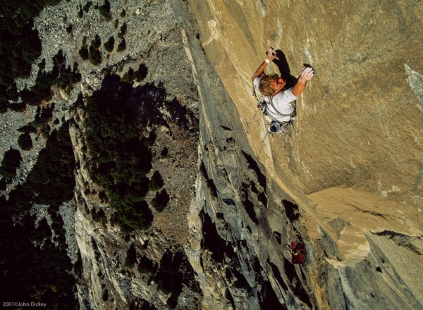 Leo Houlding on The Prophet, El Capitan.