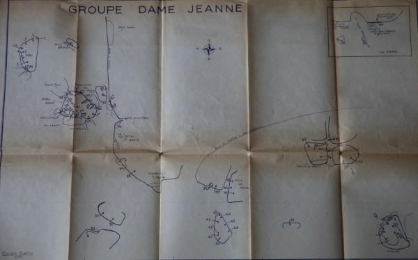 Fontainebleau Guide - La Dame Jeanne - 1947