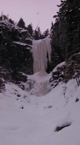 Hunter Creek Falls, WI5
