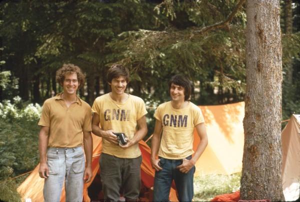 Steve Arsenault, John Bouchard, and John Porter