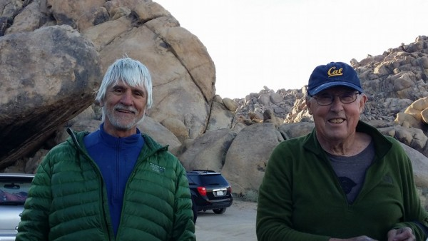 Russ McClean and Eric Beck, Alabama Hills, Ca 2-14-16