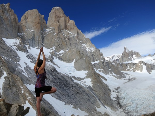 Yoga on Cuadrado Pass