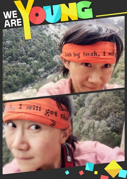 Truth is in the headband!