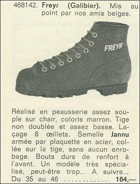 Au Vieux Campeur catalog 1974
