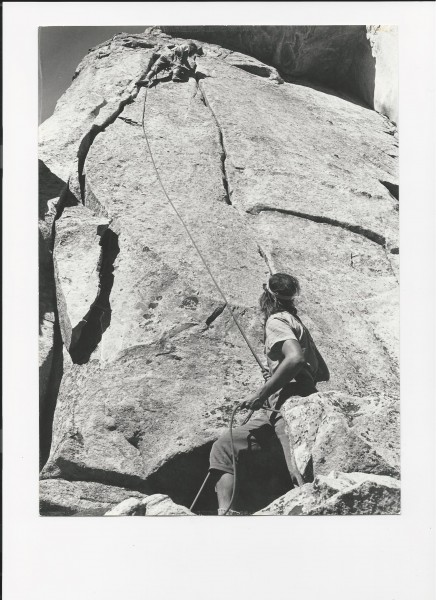Guides Wall with John Storer, Aug. 71'. Shari McVoy(sp)Ist Act...