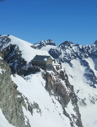 The Vignettes Hut on its perch