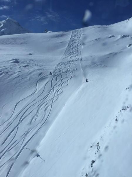 Powder day Zermatt