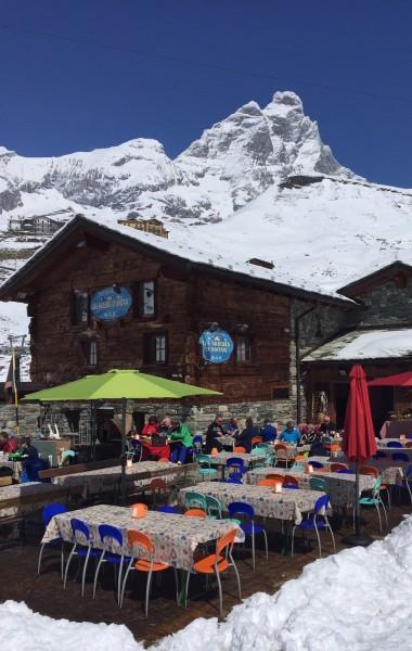 The Italian side of the Matterhorn