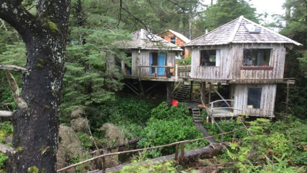 3.1 nootka island cabins at beano creek.
