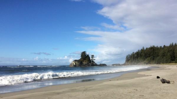 4.5 third beach…