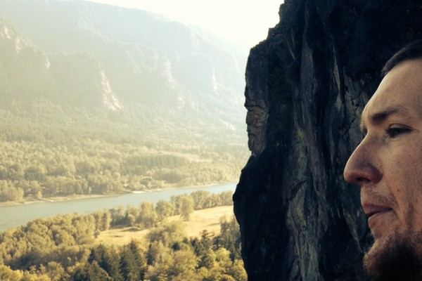 Ivan with the Norseman at Beacon Rock.