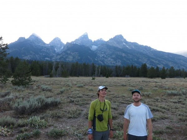 Greg and I, after the Grand Teton traverse