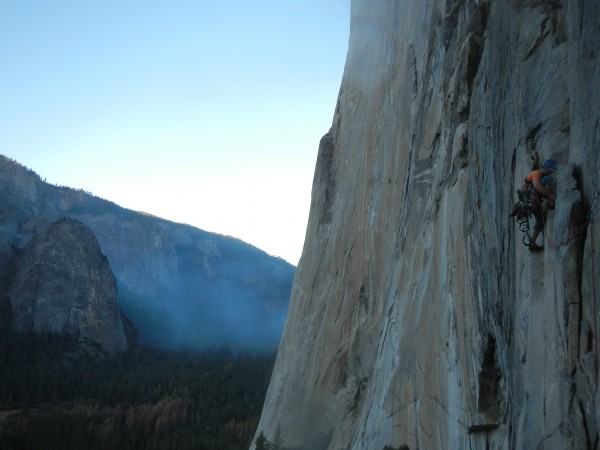 Ian Nicholson leading the Second Pitch of Tangerine Trip before the su...
