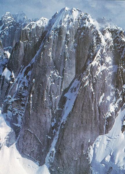 Middle Triple Peak: West Face.