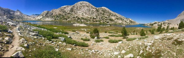 Evolution Basin on the John Muir Trail. I think this is Sapphire Lake.