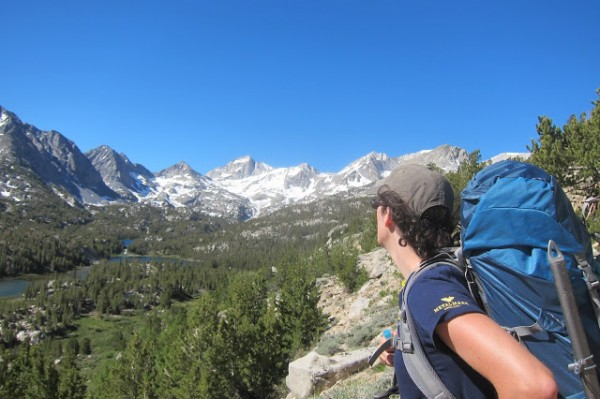 My wife, about to become an alpinist? Lets hope so