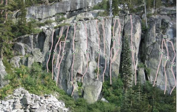 Whiskey Cliff - Left