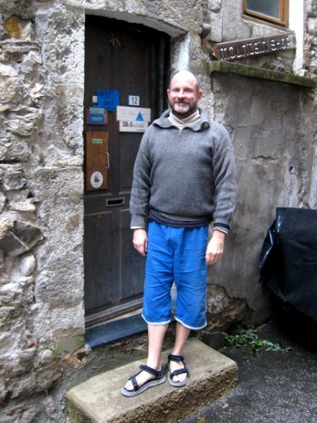 Mike Cuaz at the Blue Light in Sisteron