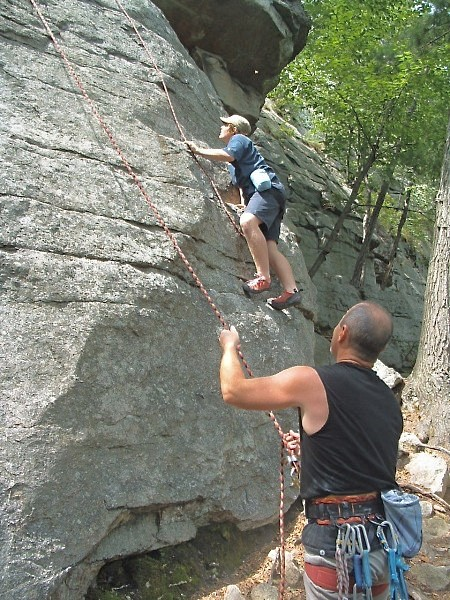 At the Gunks a few years back