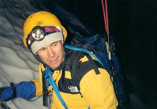 Me, taken a few weeks prior to the expedition on a training climb. We ...