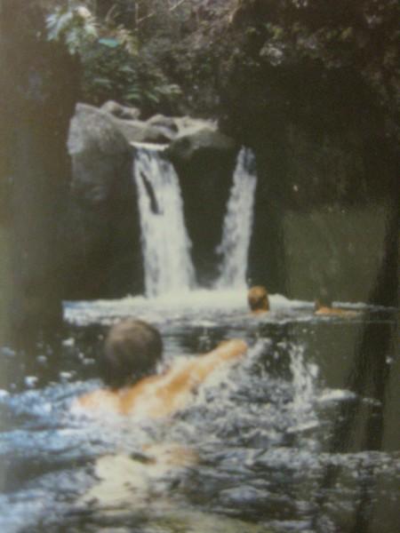 Canyoneering in the Iao