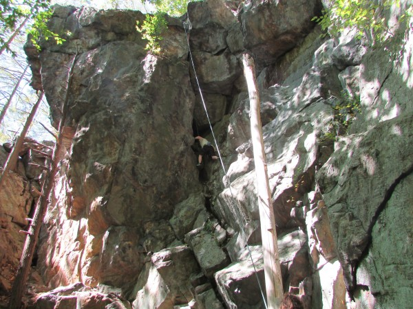 Never sure,I miss the climb-The,entire,block @/bove the black crack&#4...