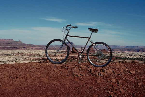 """The Mayfield"", the first mtn bike."